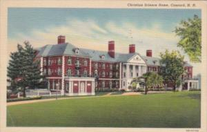 New Hampshire Concord Christian Science Home 1953 Curteeich