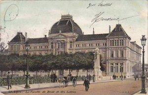 France Lyon La Faculte de Droit et des Lettres 1907
