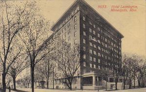 Minnesota Minneapolis Hotel Leamington 1915