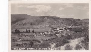 RP: Sawmills , Oliver , B.C. , Canada , PU-1952