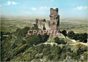 The Modern Postcard Auvergne 326 picturesque castle Tourno?l
