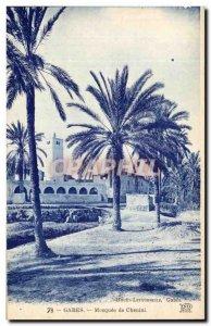 Old Postcard Mosque Gabes Chenini Tunisia