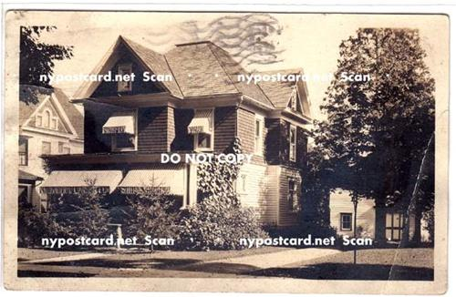 RPPC, House, PM Cooperstown NY