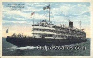 Whaleback Steamer Christopher Columbus, Milwaukee, Wisconsin, WI USA Steam Sh...