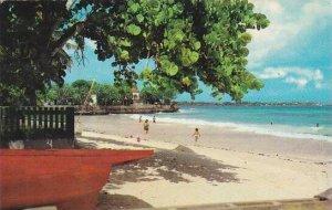 Barbados Christ Church Beach Scene Maxwell Coast