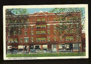 Early Manchester, New Hampshire/NH Postcard, Rice-Varick Hotel