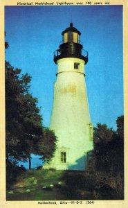 OH, Marblehead Lighthouse, Marblehead, Ohio Postcard