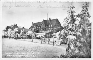Germany Feldberg, Schwarzwald 1500 m Hotel Feldberghof AK