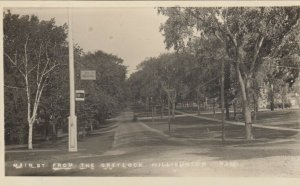 RP: WILLIAMSTOWN, Massachusetts, 1900-10s; Main St. from the Greylock