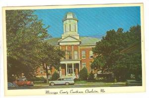 Greetings from Charleston, Mississippi County Courthouse, Missouri, 40-60s