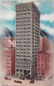 Illinois Chicago Majestic Building
