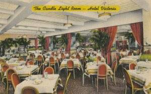 NEW YORK CITY , 1948 ; Hotel Victoria ; The Candle Light Room