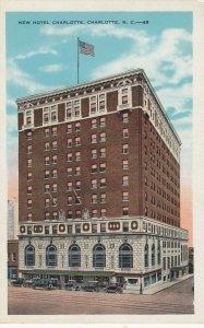 CHARLOTTE , N.C., 1910s ; New Hotel Charlotte
