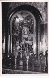 RP; Church of Gethsemane, Statue of the Virgin bedacked with Jewels in Gold, ...
