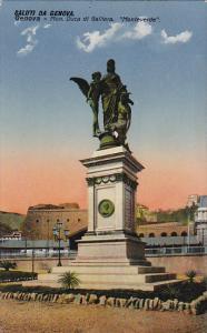 Monument Duca Di Galliera, Monteverde, Saluti Da Genova, Genova (Liguria), ...