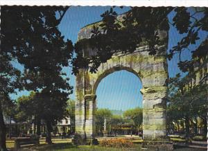 France Aix les Bains L'Arc romain de Campanus