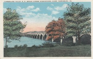 HARRISBURG, PA , 1900-10s; Cumberland Valley Railroad Bridge, Susquehanna River