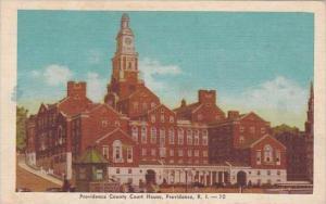 Rhode Island Providence Providence County Court House