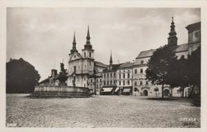 RP: JIHLAVA, Czech Republic , 1920-40s; Partial View Masaryk Square