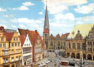 am Markt m UL Frauenkirche Bremen Germany 1965