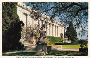 California San Marino Henry R Huntington Library & Art Gallery