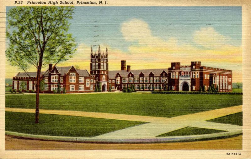 NJ - Princeton. Princeton High School