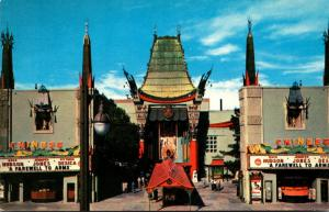 California Hollywood Grauman's Chinese Theatre