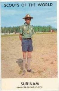 Scouts Of The World, Surinam, 1968