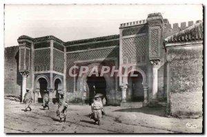 Old Postcard Meknes Morocco Morocco Gate B