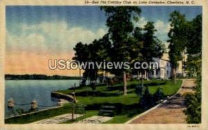 Red Fez Country Club on Lake Catawba Charlotte NC Unused