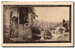 Postcard Old Hotellerie Saint Baume Saint Zacharie Var 1st Meeting of St. Mar...