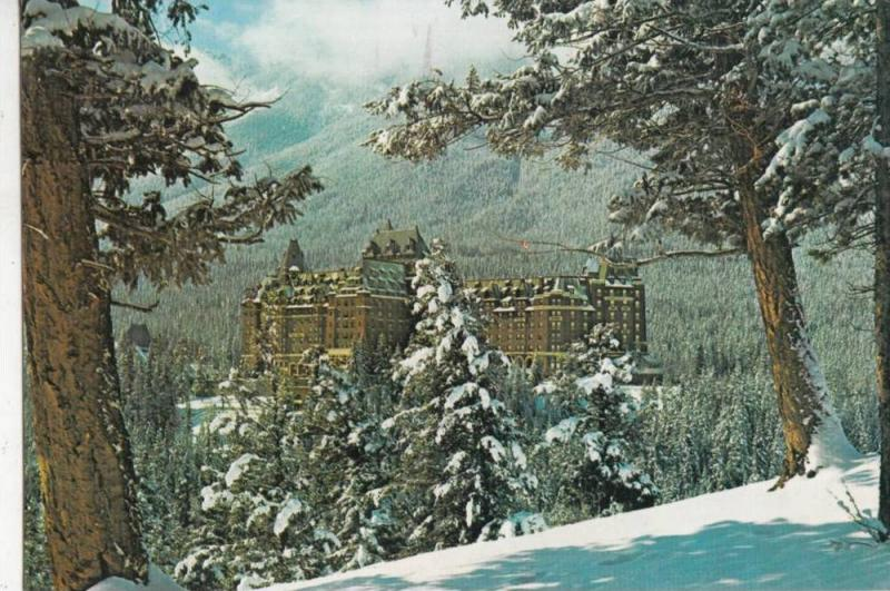 ZS11364 Banff Springs Hotel used perfect shape