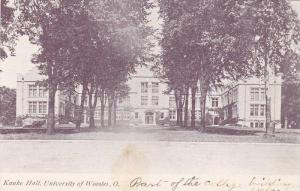 Exterior View, Kanke Hall, University of Wooster, Wooster, Ohio, 00-10's
