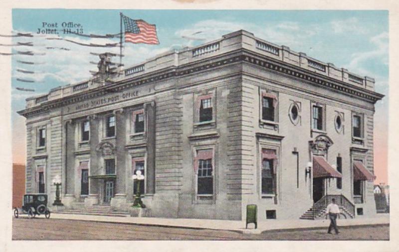 Illinois Joliet Post Office 1927
