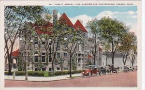 Ohio Toledo Public Library Corner Madison Avenue and Ontario