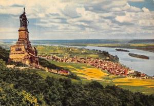 Nationaldenkmal und Ruedesheim am Rhein Monument Statue River Panorama
