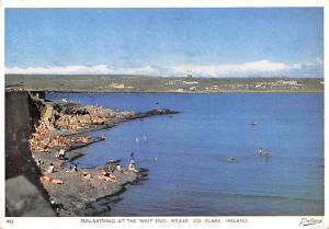 Clare Ireland Sun Bathing at West End, Kilkee Clare Sun Bathing at West End, ...