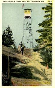 NY - Bald Mountain Fire Warden's Tower, Adirondacks
