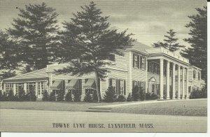Lynnefield, Mass., Towne Lynne House