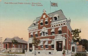KINCARDINE , Ontario , 1908 ; Post Office & Library