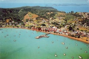 Aerial View RUSSELL, BAY OF ISLANDS, NEW ZEALAND - CONTINENTAL-SIZE