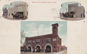 BOISE , Idaho , 1910 ; Fire Stations