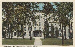 AURORA , Illinois, 1900-10s ; Jennings Seminary