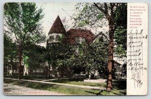 Benton Harbor Michigan~Sunnyside Sanitarium & Benton Harbor College~1906
