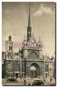 Old Postcard Paris and Merveills Eglise Saint Laurent