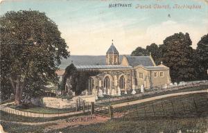 BR95890 parish church rockingham   uk