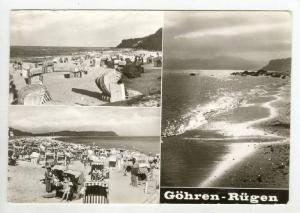 RP Gohren-Rugen, Germany, 3-view postcard, 1950s