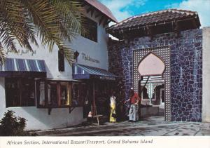 Mediterranea, African Section, International Bazaar, Freeport, Grand Bahama I...