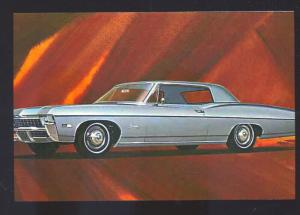 1968 CHEVROLET IMPALA CAR DEALER ADVERTISING POSTCARD '68 CHEVY