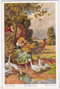 Bruder Grimm, Die Ganfemagd By O Kubel
